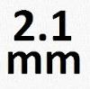 2-1mm